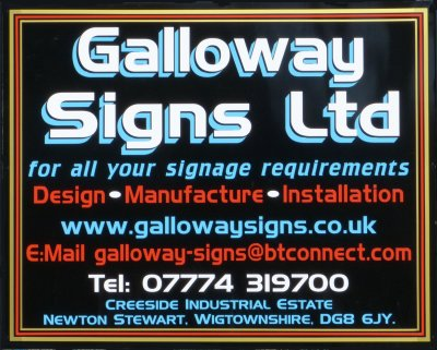 Galloway Signs, Newton Stewart